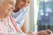 Omzorg zorg bij dementie